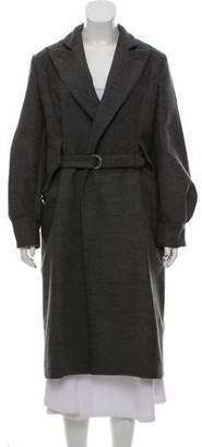 Saint Laurent Long Wool Coat
