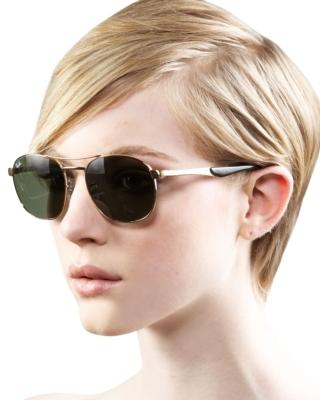 Ray Ban Rounded Aviator Sunglasses