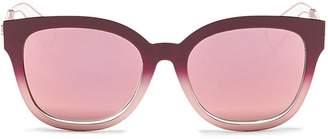 Christian Dior 'Diorama 1' degradé openwork temple mirror sunglasses