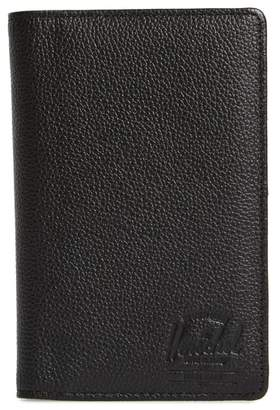 Herschel Tile Search Slim Vertical Leather Wallet