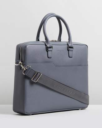 "Mathias 13"" Leather Briefcase"
