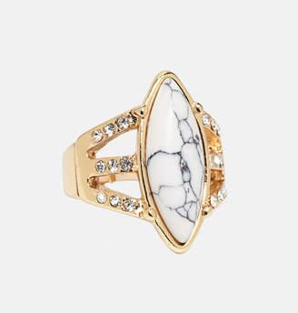 Avenue Marbled Stone Stretch Ring
