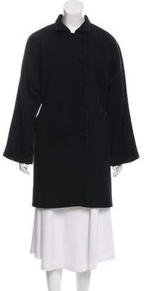 Organic by John Patrick Knee-Length Wool Coat