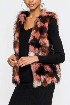 The Vintage Valet Faux Fur Vest