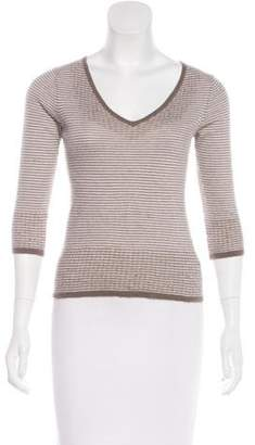 Amanda Wakeley Striped Cashmere Sweater