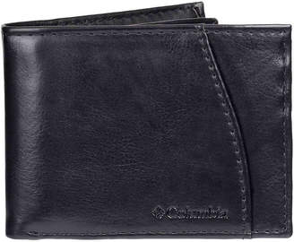 Columbia Front Pocket Leather Wallet - Men's