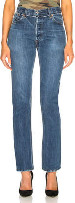 RE/DONE Reconstructed Pocket Straight Leg Levi's Jean in Indigo | FWRD