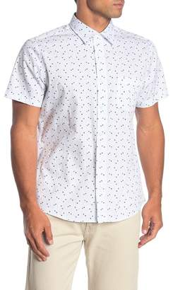 WALLIN & BROS Short Sleeve Regular Fit Printed Shirt