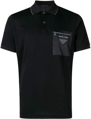 Prada short-sleeve polo shirt