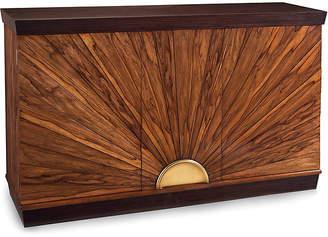 John-Richard Collection Sunburst Two-Door Cabinet - Ofram Brown