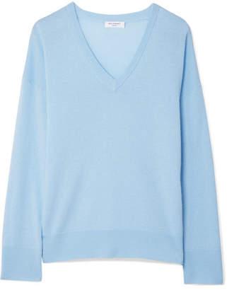 Equipment Lucinda Cashmere Sweater - Sky blue