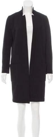 Fendi Open Front Knee-Length Coat