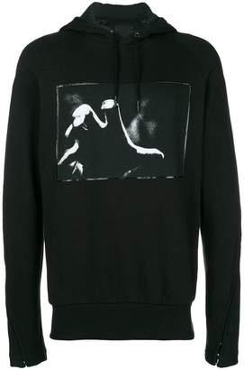 Tom Rebl hand print hoodie