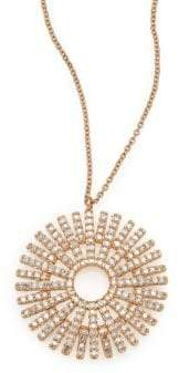 Astley Clarke Rising Sun Diamond& 14K Yellow Gold Pendant Necklace