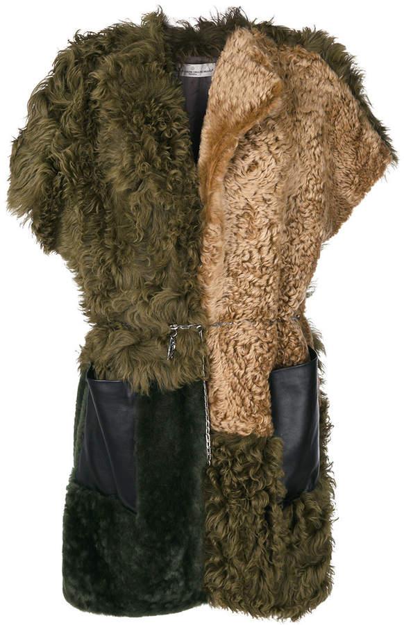 Golden Goose Deluxe Brand short-sleeve belted coat