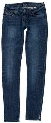 Armani Jeans Mid-Rise Straight-Leg Jeans