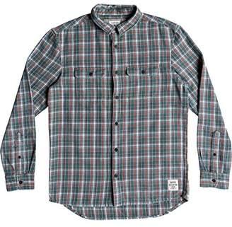 Quiksilver Men's Fuji Tang Button Down Flannel Shirt