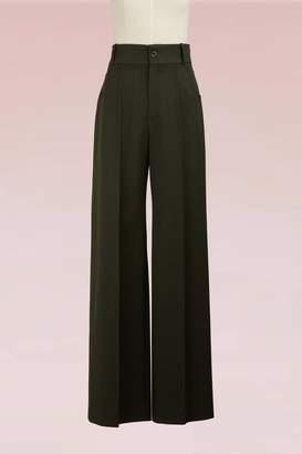 Chloé Wide Wool Pants
