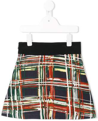 Marni flared printed skirt