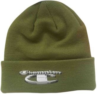 2d76b80b8b9 Supreme X Champion Green Wool Hats   pull on hats · Vestiaire Collective ...
