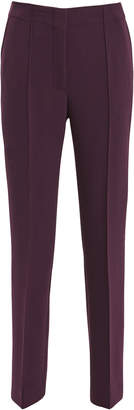Victoria Beckham Victoria, Burgundy Straight Leg Pants