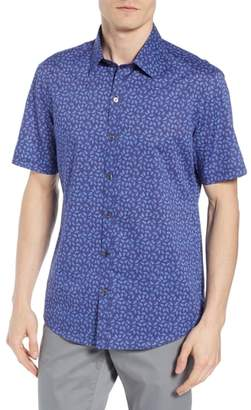 Zachary Prell Regular Fit Sprad Woven Shirt