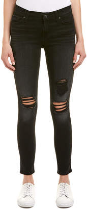7 For All Mankind Seven 7 Aged Onyx 2 Ankle Skinny Leg