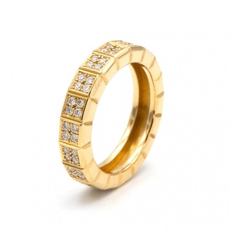 Chopard Ice Cube yellow gold ring