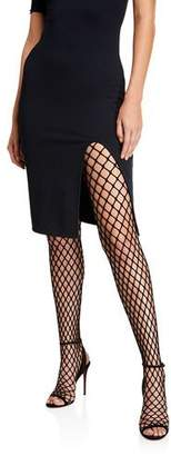 Christian Louboutin Zoom Fishnet Tight Red Sole Shoes