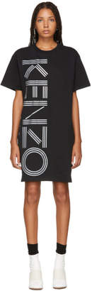 Kenzo Black Logo Sport Comfort Tee Dress