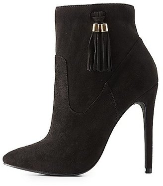 Pointed Toe Dress Booties $38.99 thestylecure.com