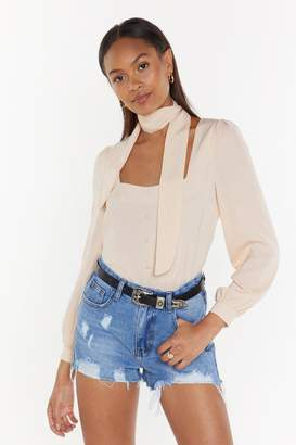 Nasty Gal Neck and Neck Choker Blouse