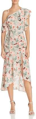 Joie Jamima Asymmetric Silk Dress