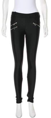 Thomas Wylde Mid-Rise Skinny Leggings
