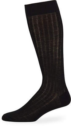 Neiman Marcus Men's Over-Calf Cashmere Dress Socks