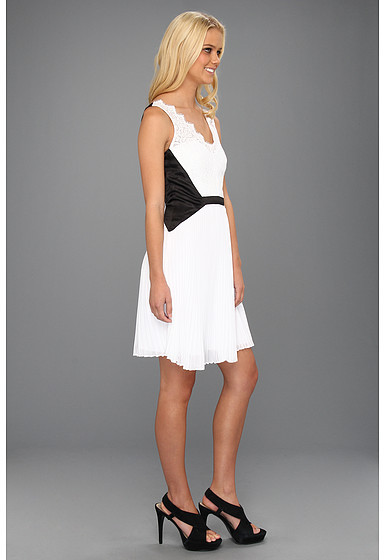 Max & Cleo Tricia Woven Cocktail Dress