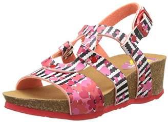 Desigual Girls' Wedge Bi Heels Sandals,13.5 Child UK 32 EU