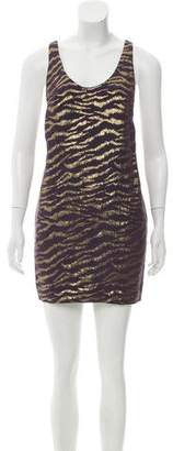 3.1 Phillip Lim Lurex Patterned Silk-Blend Dress