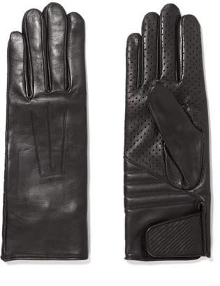 Isabel Marant Rocker Leather Gloves - Black