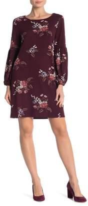 Como Vintage Floral Print Knit Dress