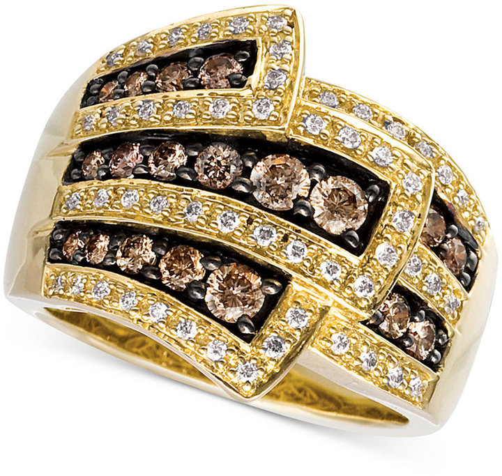 Le Vian Chocolate Diamond Wrap (1 ct. t.w.) in 14k Gold