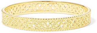 Lee Grace Straight Lace Gold Ring