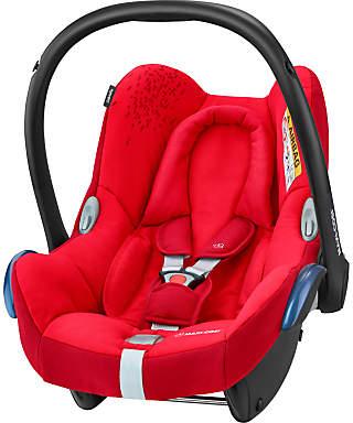 Maxi-Cosi CabrioFix Group 0+ Baby Car Seat, Vivid Red