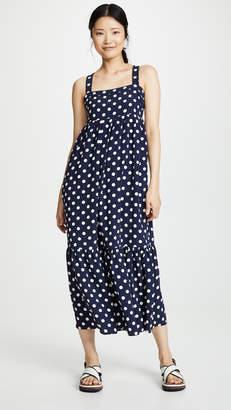 f5b7331226b6 ENGLISH FACTORY Sleeveless Maxi Dress