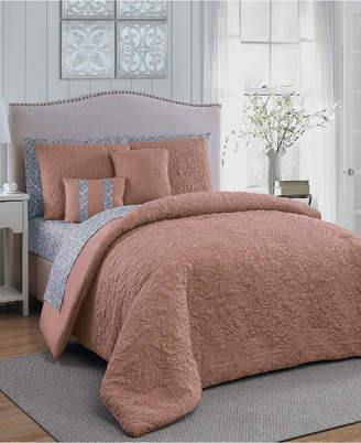 Geneva Home Fashion Melbourne 9 Pc Queen Bed In A Bag Bedding