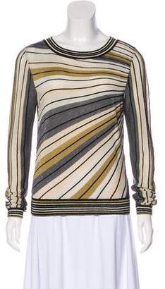 Diane von Furstenberg Long Sleeve Knit Sweater