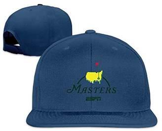 ea68066344c Oops Times Cap Solid Adult Masters Golf Logo Flat Bill Baseball Cap