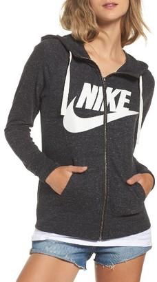 Women's Nike Sportswear Gym Vintage Zip Hoodie $65 thestylecure.com