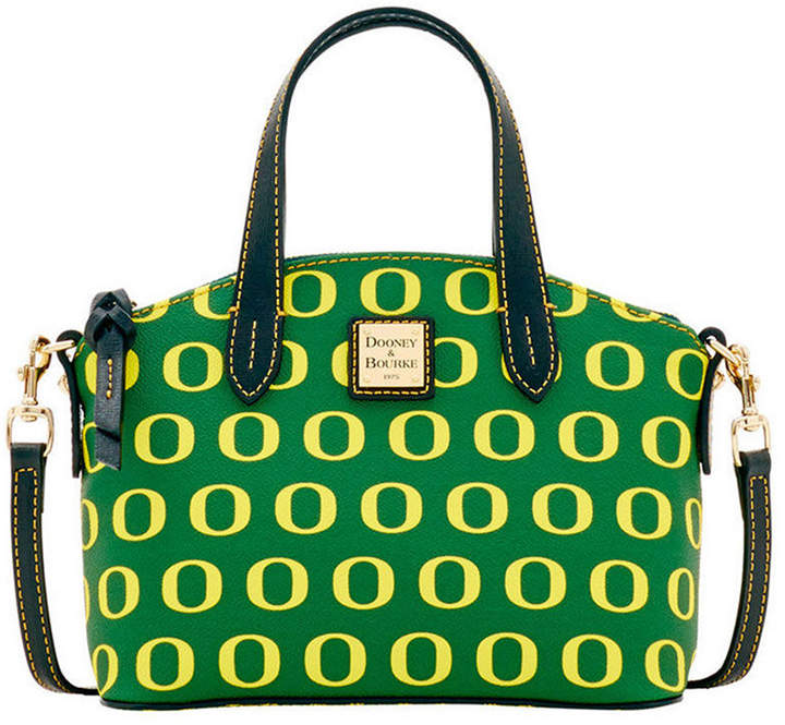 Dooney & Bourke Oregon Ducks Ruby Mini Satchel Crossbody - GREEN - STYLE