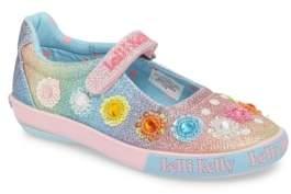 Lelli Kelly Kids Beaded Mary Jane Sneaker